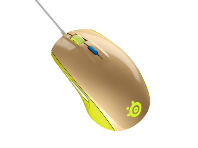 Мишки SteelSeries Rival 100 Gaia Green