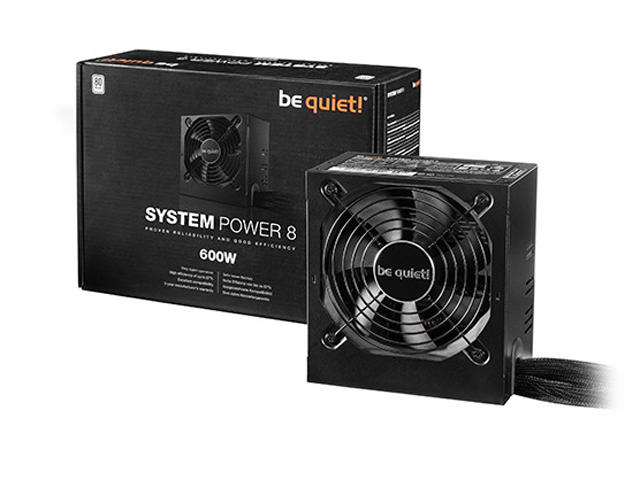 Захранвания be quiet! SYSTEM POWER 8 600W