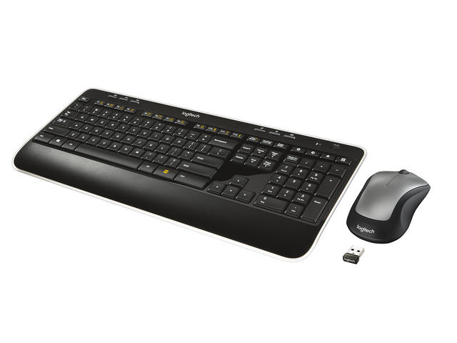 Клавиатури Logitech Wireless Combo MK520