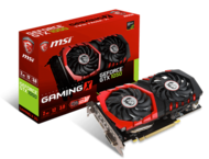 Видео карти MSI GeForce GTX 1050 GAMING X 2G