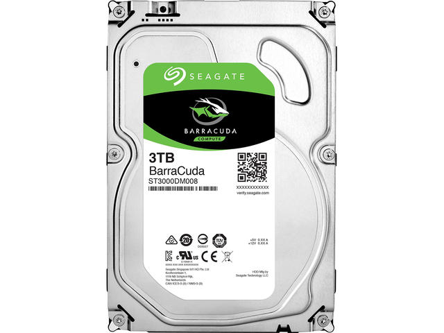 Твърди дискове 3TB SEAGATE Barracuda Guardian