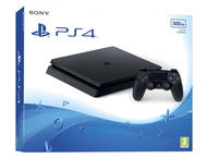 Конзоли Sony PlayStation 4 Slim 500GB, в черно