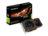 Видео карти Gigabyte GeForce GTX 1050 G1 Gaming 2G
