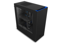 Кутии NZXT Source S340 Black/Blue