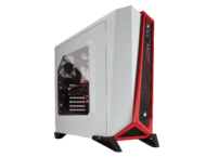Кутии Corsair Carbide SPEC-ALPHA White/Red