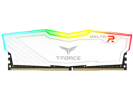 RAM памети 16GB (2x8GB) DDR4 2400MHz Team T-Force Delta RGB White