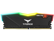RAM памети 16GB (2x8GB) DDR4 2400MHz Team T-Force Delta RGB Black