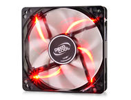 Вентилатори DeepCool Fan 120mm Red LED - WIND BLADE 120