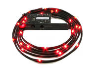 LED осветление NZXT Sleeved LED Kit Red