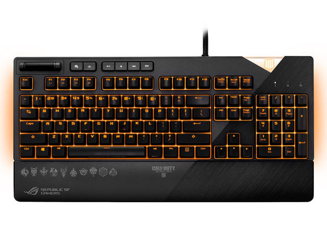 Клавиатури ASUS ROG Strix Flare Call of Duty - Black Ops 4 Edition