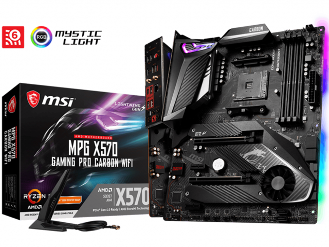 Дънни платки MSI MPG X570 GAMING PRO CARBON WiFi
