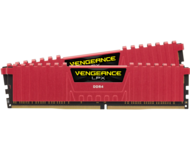 Оперативна памет 16GB (2x8GB) DDR4 3200MHz Corsair Vengeance LPX Red
