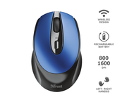 Мишки TRUST Zaya Wireless Rechargeable Mouse Blue