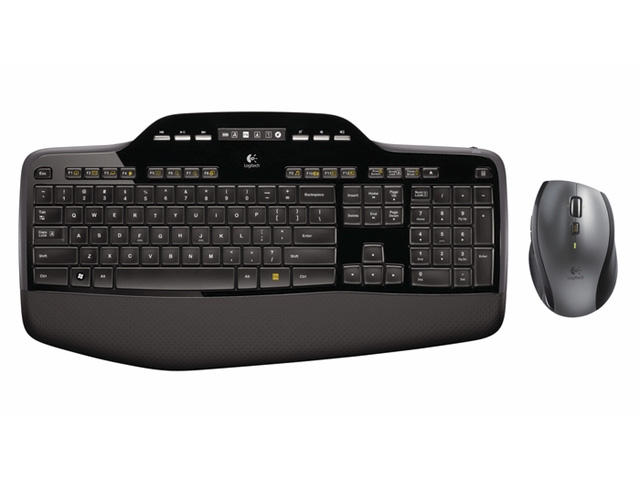 Клавиатури Logitech Wireless Desktop MK710