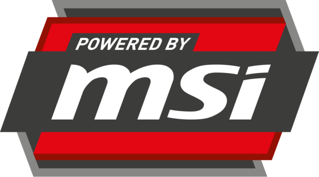 Msi-powered by msi-logo